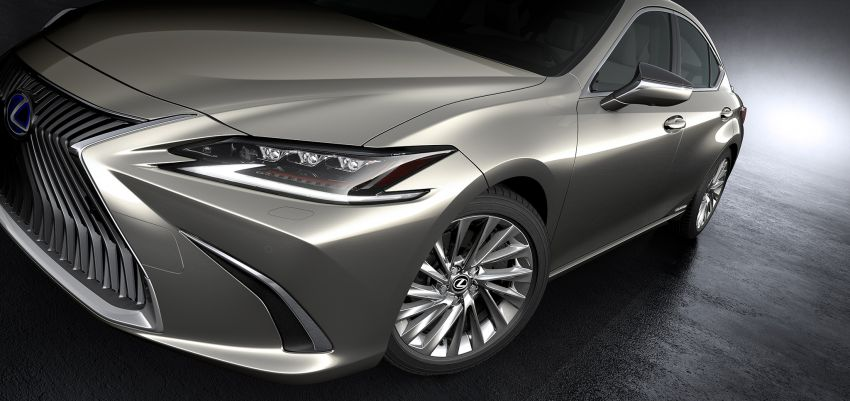2019 Lexus ES debuts in Beijing – TNGA platform, hybrid and petrol powertrains, F Sport package Image #810799