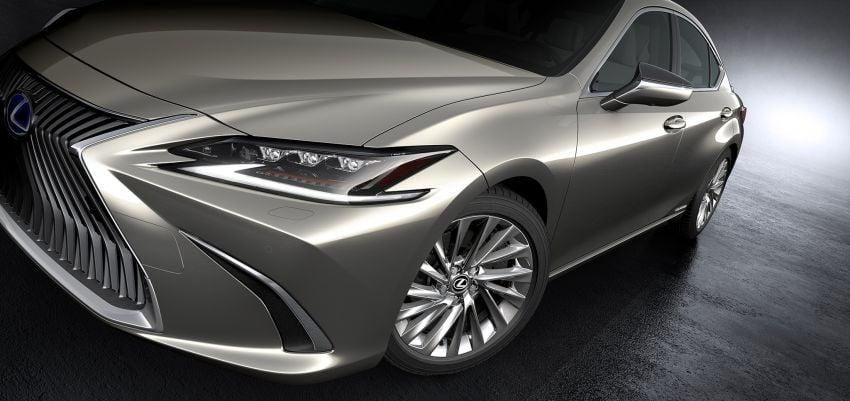 2019 Lexus ES debuts in Beijing – TNGA platform, hybrid and petrol powertrains, F Sport package Image #810799