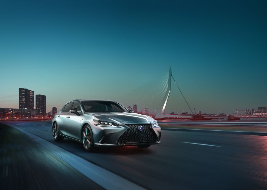 2019 Lexus ES debuts in Beijing – TNGA platform, hybrid and petrol powertrains, F Sport package Image #810781