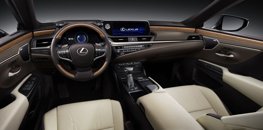 2019 Lexus ES debuts in Beijing – TNGA platform, hybrid and petrol powertrains, F Sport package Image #810802
