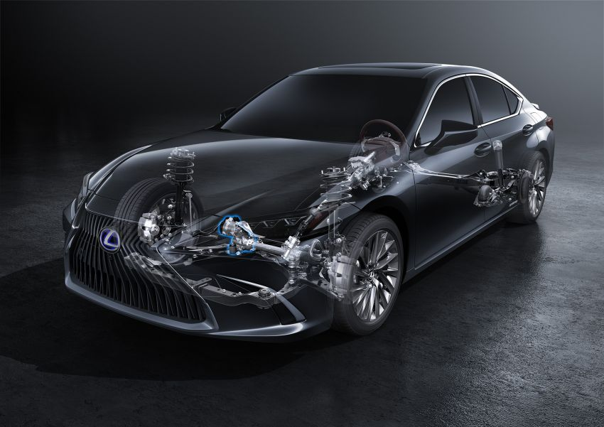 2019 Lexus ES debuts in Beijing – TNGA platform, hybrid and petrol powertrains, F Sport package Image #810806