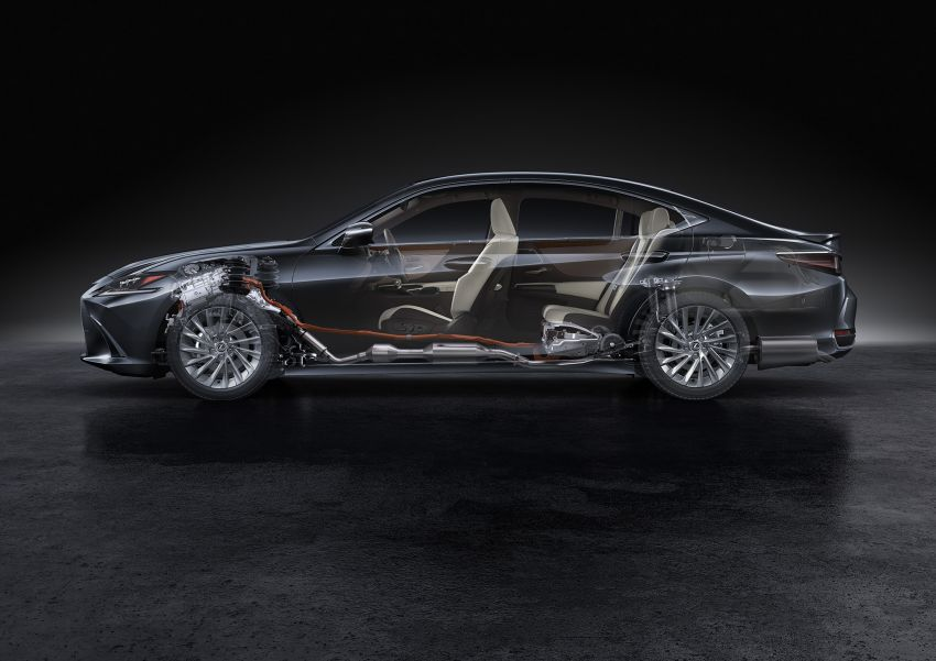 2019 Lexus ES debuts in Beijing – TNGA platform, hybrid and petrol powertrains, F Sport package Image #810808