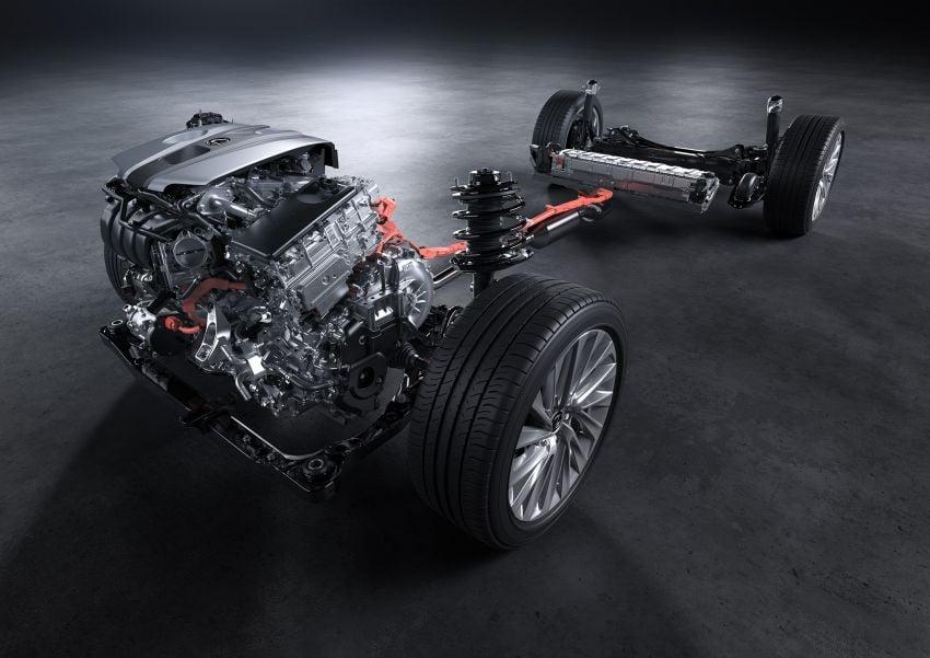 2019 Lexus ES debuts in Beijing – TNGA platform, hybrid and petrol powertrains, F Sport package Image #810809