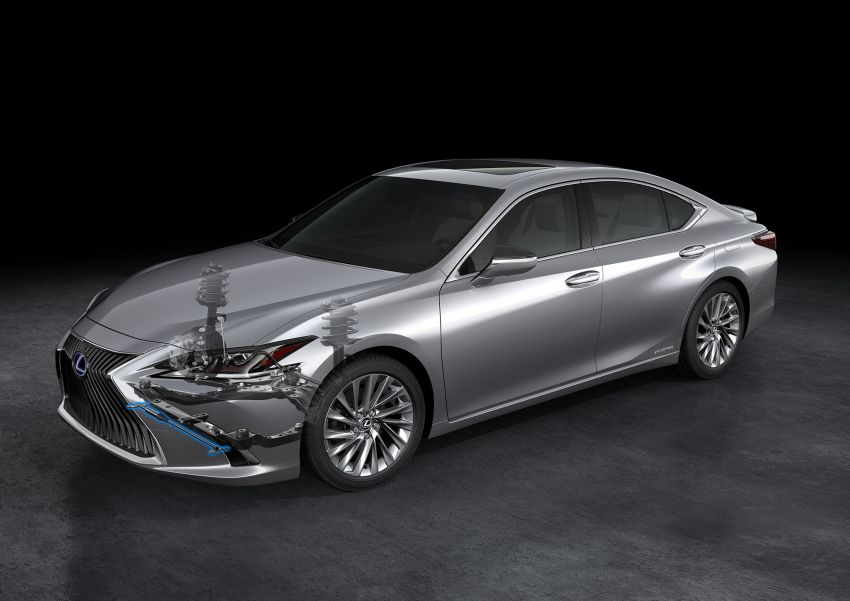 2019 Lexus ES debuts in Beijing – TNGA platform, hybrid and petrol powertrains, F Sport package Image #810810
