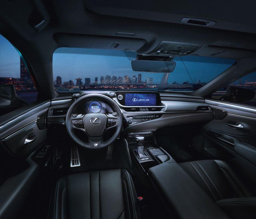 2019 Lexus ES debuts in Beijing – TNGA platform, hybrid and petrol powertrains, F Sport package Image #810785