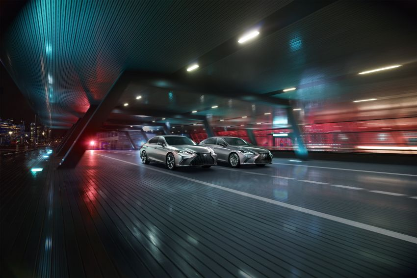 2019 Lexus ES debuts in Beijing – TNGA platform, hybrid and petrol powertrains, F Sport package Image #810786