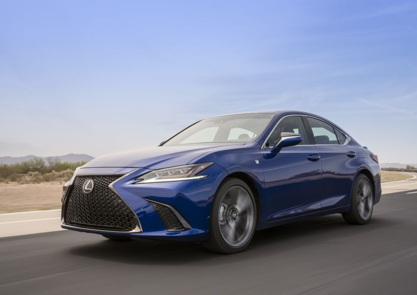 2019 Lexus ES debuts in Beijing – TNGA platform, hybrid and petrol powertrains, F Sport package Image #810816