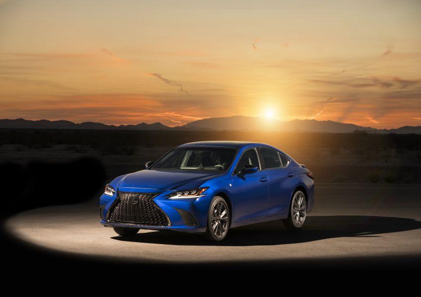 2019 Lexus ES debuts in Beijing – TNGA platform, hybrid and petrol powertrains, F Sport package Image #810826