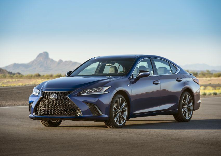 2019 Lexus ES debuts in Beijing – TNGA platform, hybrid and petrol powertrains, F Sport package Image #810827