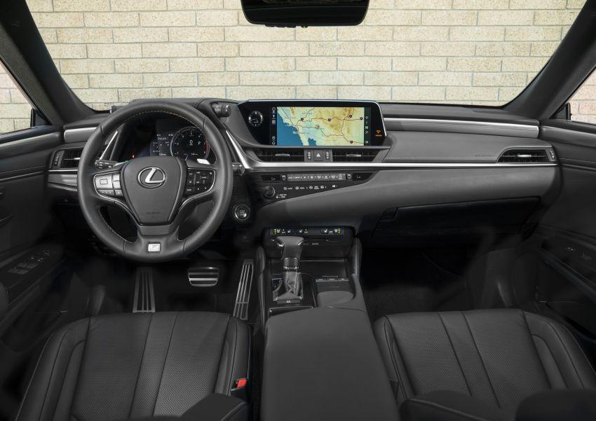 2019 Lexus ES debuts in Beijing – TNGA platform, hybrid and petrol powertrains, F Sport package Image #810829