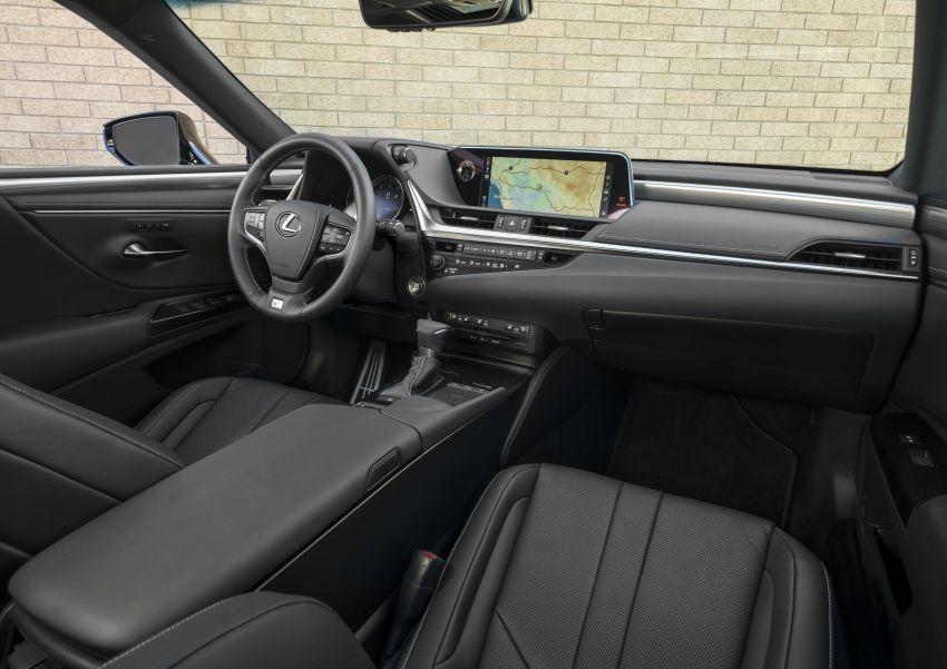 2019 Lexus ES debuts in Beijing – TNGA platform, hybrid and petrol powertrains, F Sport package Image #810830