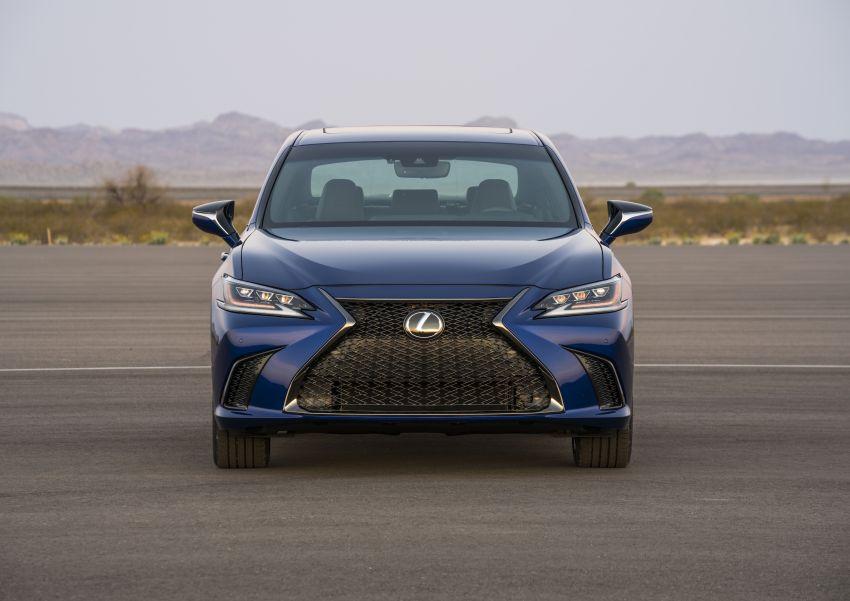 2019 Lexus ES debuts in Beijing – TNGA platform, hybrid and petrol powertrains, F Sport package Image #810832