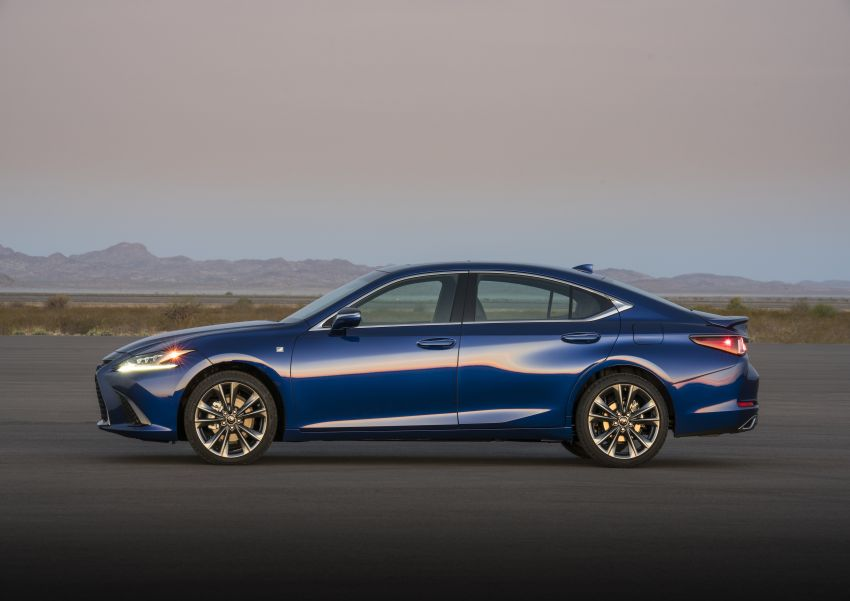 2019 Lexus ES debuts in Beijing – TNGA platform, hybrid and petrol powertrains, F Sport package Image #810840