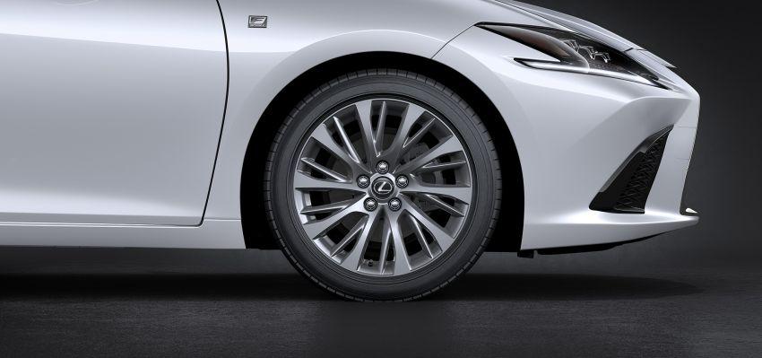2019 Lexus ES debuts in Beijing – TNGA platform, hybrid and petrol powertrains, F Sport package Image #810866