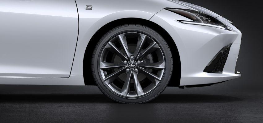 2019 Lexus ES debuts in Beijing – TNGA platform, hybrid and petrol powertrains, F Sport package Image #810867
