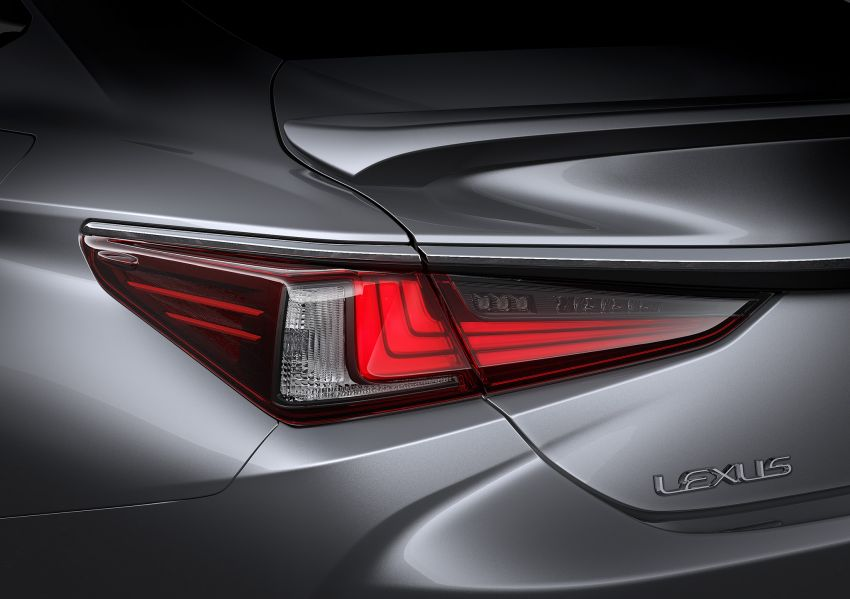 2019 Lexus ES debuts in Beijing – TNGA platform, hybrid and petrol powertrains, F Sport package Image #810869