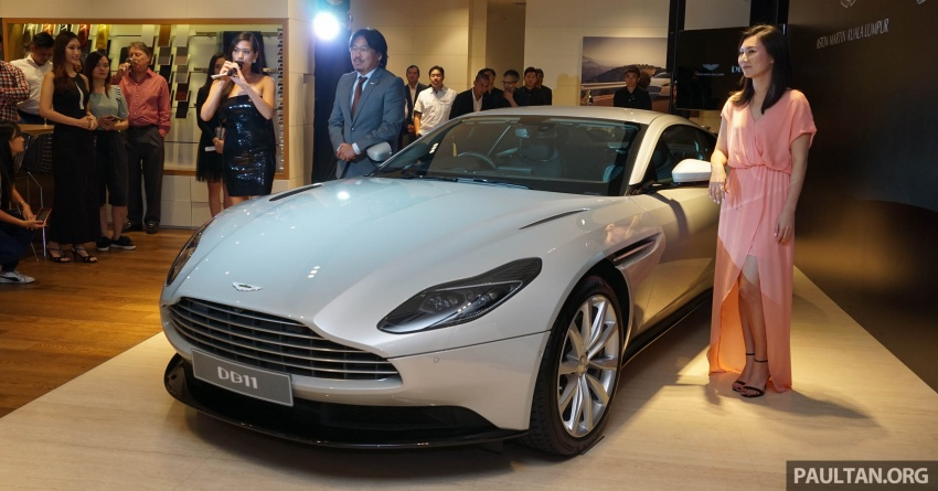 Aston Martin DB11 V8 officially launched in Malaysia – AMG-sourced engine with 510 PS, from RM1.8 million Image #805943