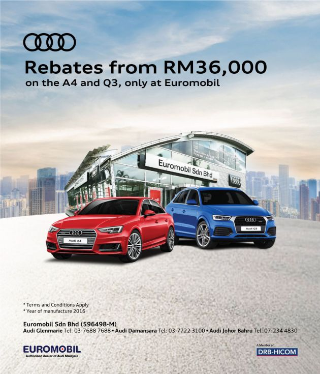AD: Amazing Deals On The Audi Q3 And A4 Only With