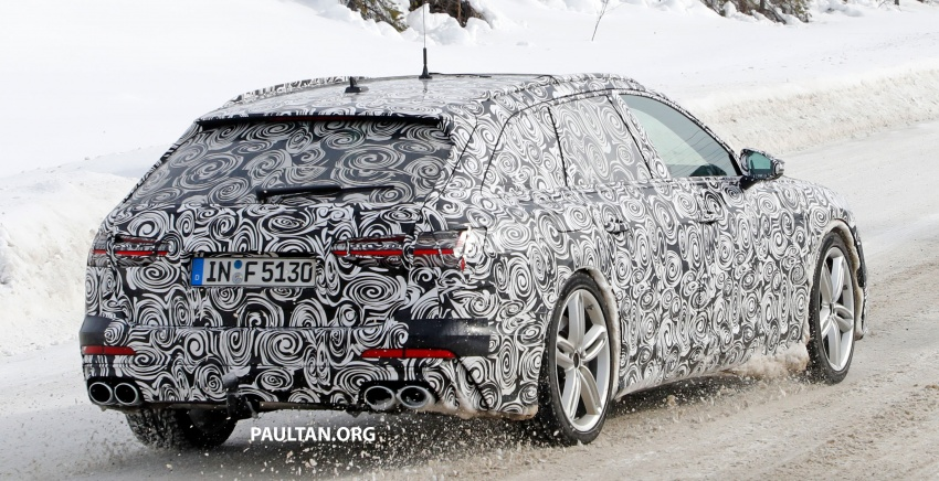SPIED: Audi S6 Avant spotted again; 2.9L biturbo V6? Image #803755
