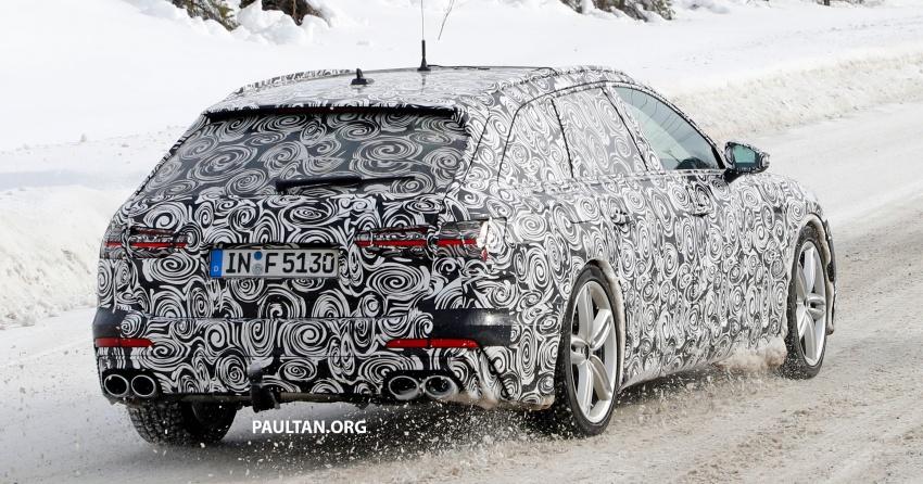 SPIED: Audi S6 Avant spotted again; 2.9L biturbo V6? Image #803756