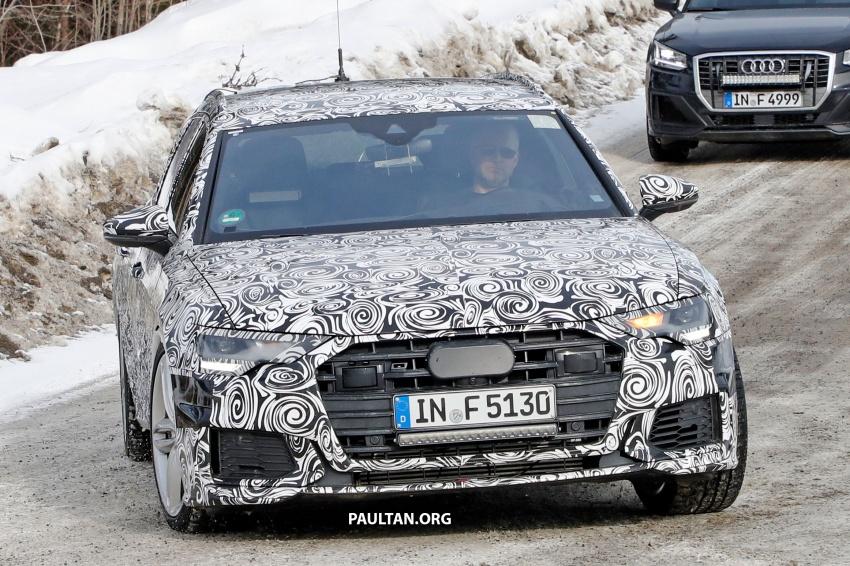 SPIED: Audi S6 Avant spotted again; 2.9L biturbo V6? Image #803746