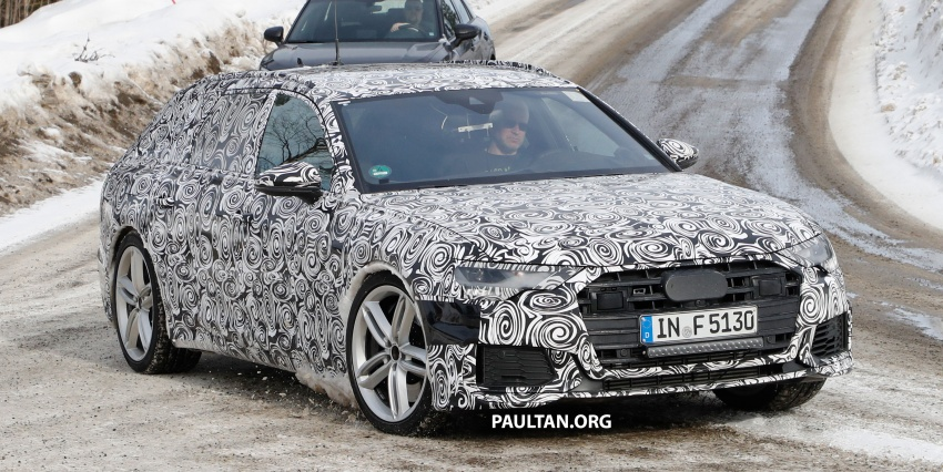 SPIED: Audi S6 Avant spotted again; 2.9L biturbo V6? Image #803747
