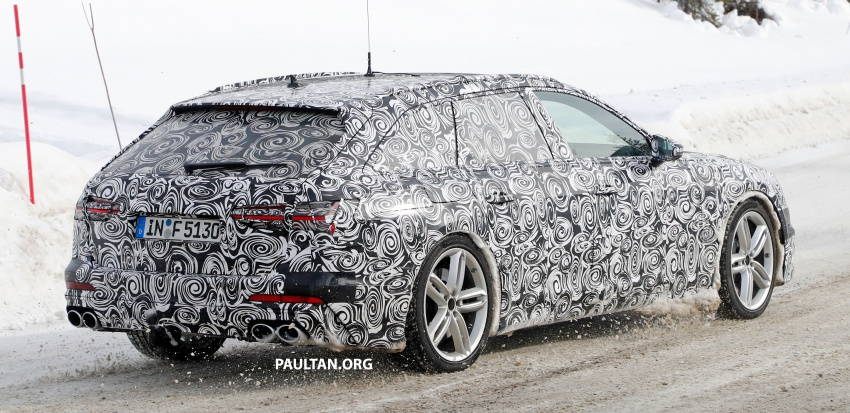 SPIED: Audi S6 Avant spotted again; 2.9L biturbo V6? Image #803754