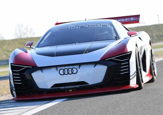 Audi E Tron Vision Gran Turismo 804 Hp E Racer
