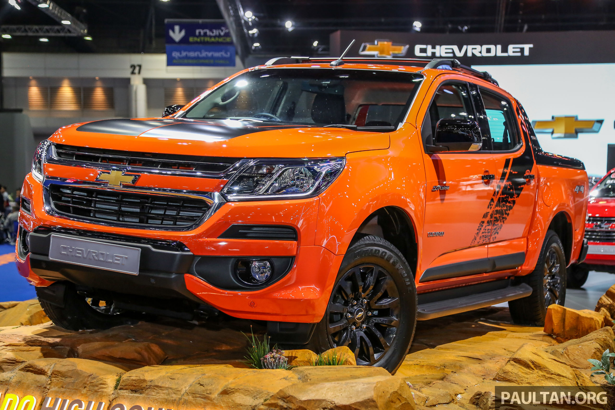 Bangkok 2018: Chevrolet Colorado in Orange Crush