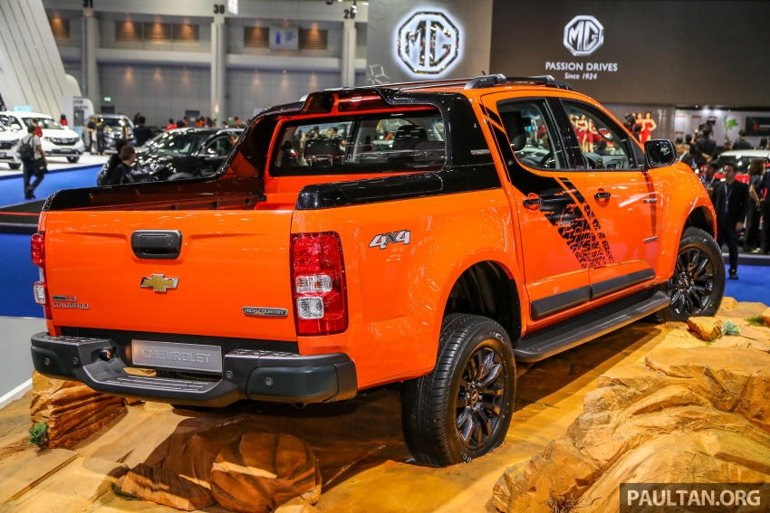 Bangkok 2018: Chevrolet Colorado in Orange Crush Image #800959