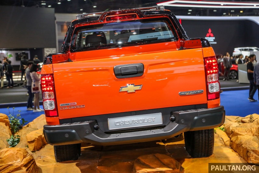 Bangkok 2018: Chevrolet Colorado in Orange Crush Image #800961