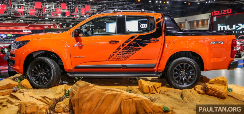 Bangkok 2018: Chevrolet Colorado in Orange Crush Image #800962