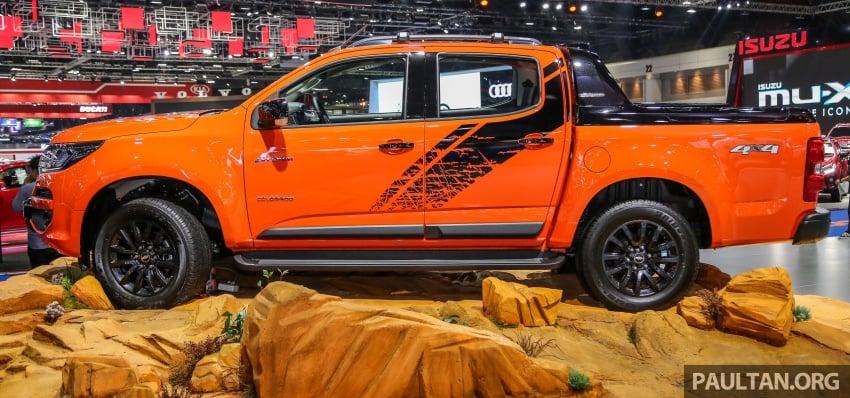 Bangkok 2018: Chevrolet Colorado in Orange Crush Image #800962