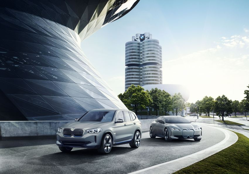 BMW Concept iX3 unveiled at Beijing Motor Show – based on the X3, 268 hp, 400 km all-electric range Image #811078