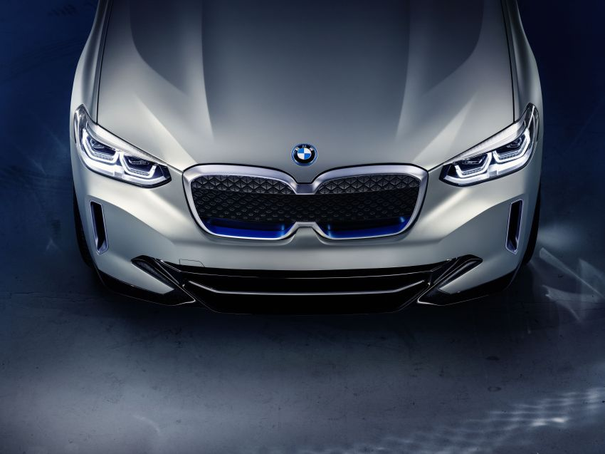 BMW Concept iX3 unveiled at Beijing Motor Show – based on the X3, 268 hp, 400 km all-electric range Image #811105