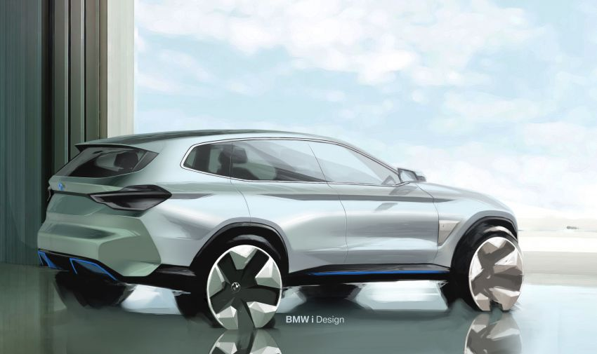 BMW Concept iX3 unveiled at Beijing Motor Show – based on the X3, 268 hp, 400 km all-electric range Image #811080