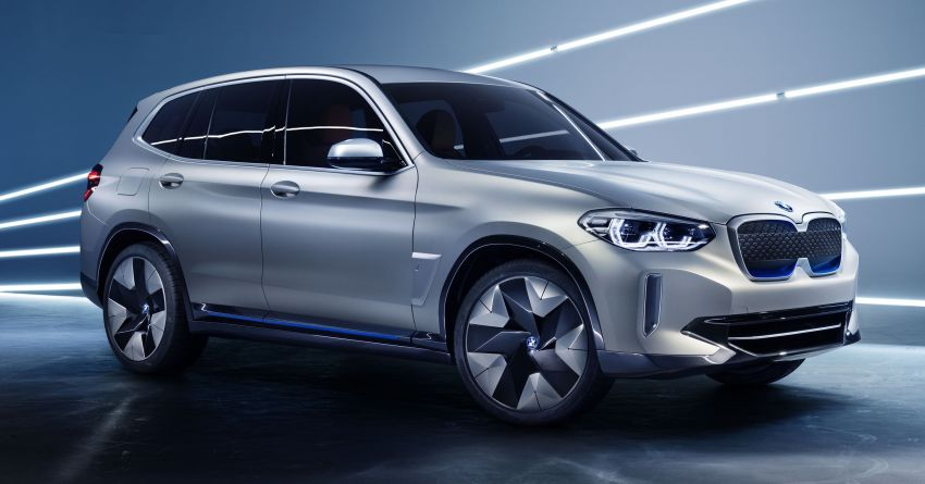 BMW Concept iX3 unveiled at Beijing Motor Show – based on the X3, 268 hp, 400 km all-electric range Image #811085