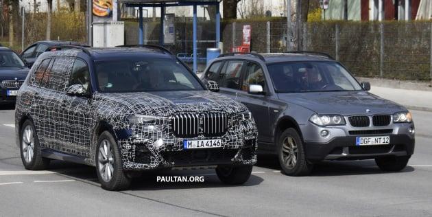 The Massive BMW X7 Dwarfs This First Generation X3