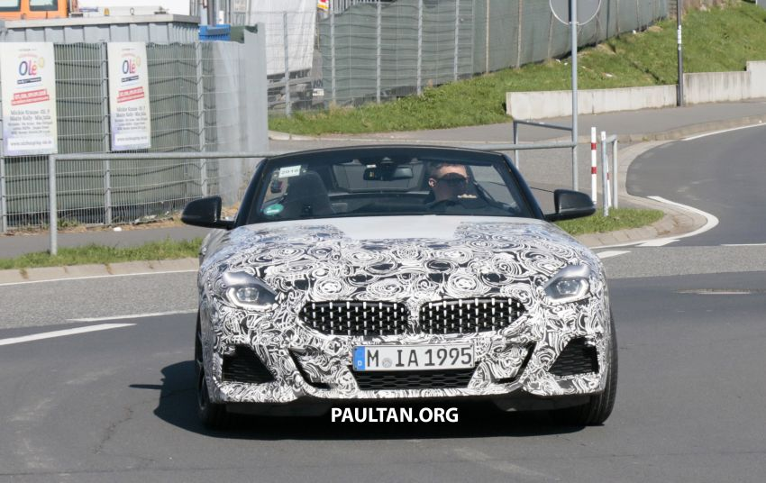 SPYSHOTS: BMW Z4 spotted – top down with interior Image #808814
