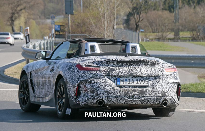 SPYSHOTS: BMW Z4 spotted – top down with interior Image #808827