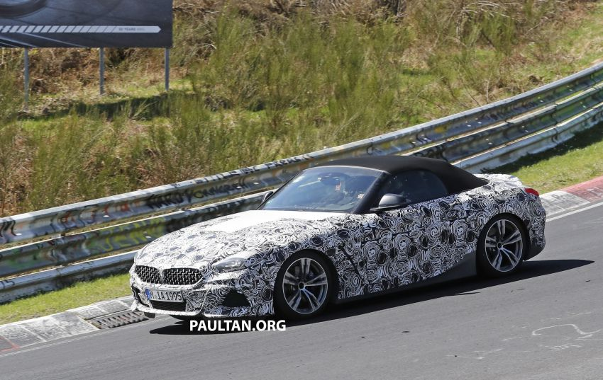 SPYSHOTS: BMW Z4 spotted – top down with interior Image #808832