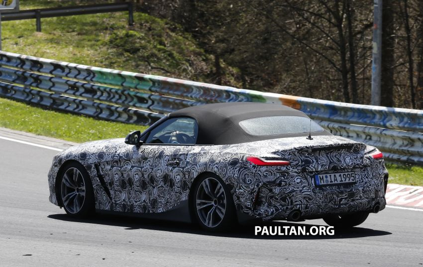 SPYSHOTS: BMW Z4 spotted – top down with interior Image #808837