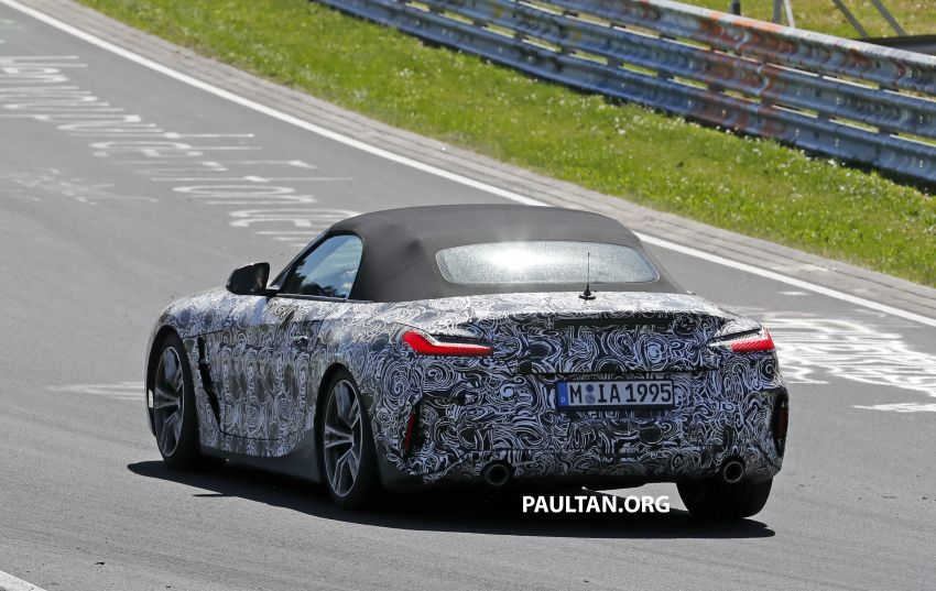 SPYSHOTS: BMW Z4 spotted – top down with interior Image #808839