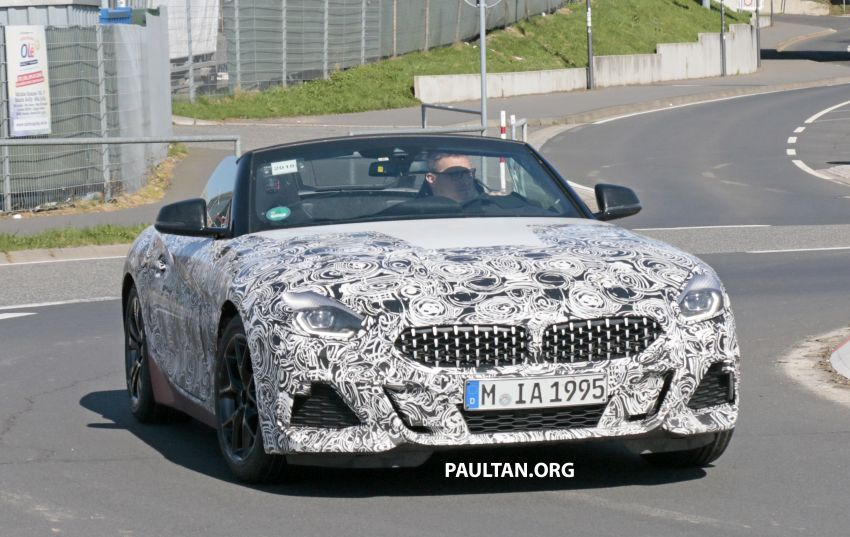 SPYSHOTS: BMW Z4 spotted – top down with interior Image #808815