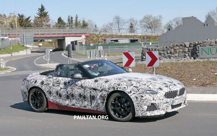 SPYSHOTS: BMW Z4 spotted – top down with interior Image #808817