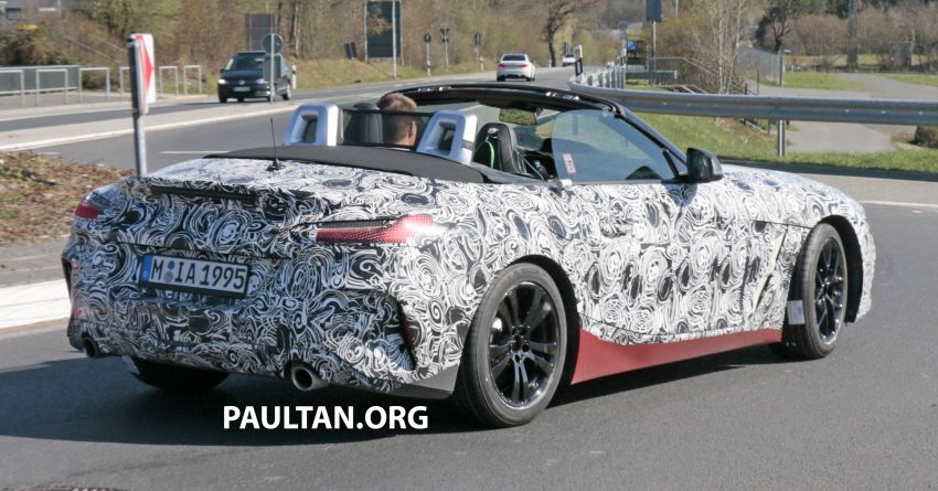 SPYSHOTS: BMW Z4 spotted – top down with interior Image #808824