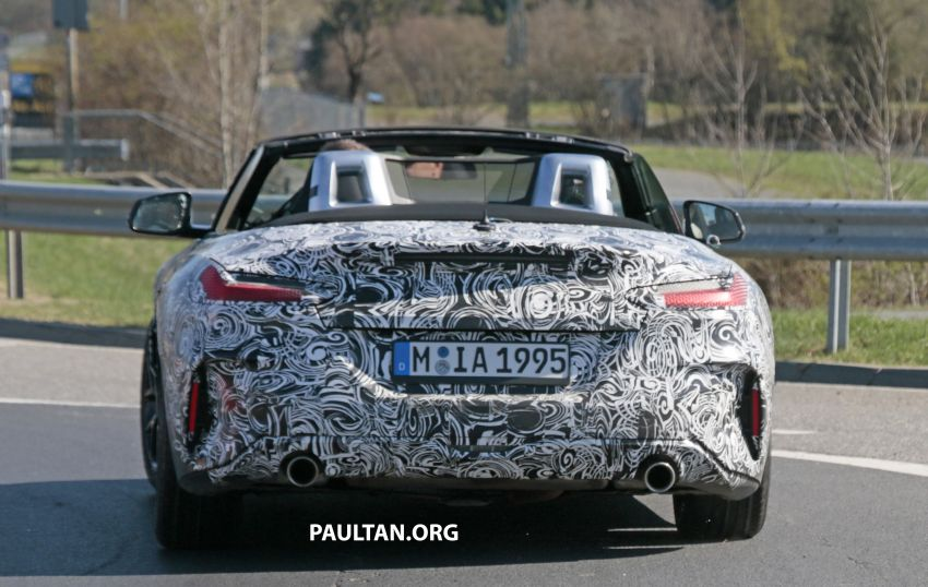 SPYSHOTS: BMW Z4 spotted – top down with interior Image #808825
