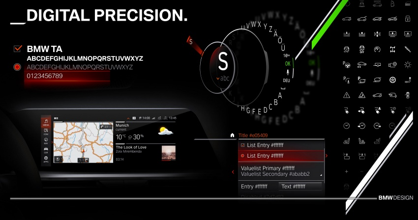 BMW reveals next-gen iDrive, digital instrument cluster Image #807987