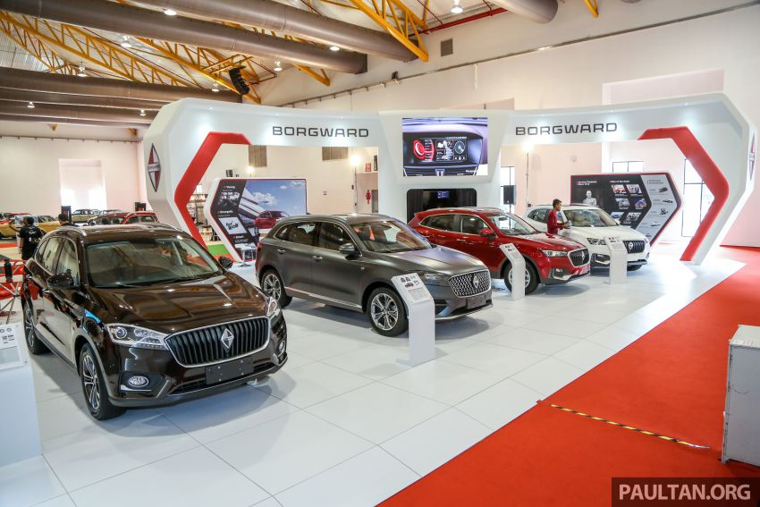 Borgward BX5 and BX7 SUVs previewed in Malaysia Image #812969