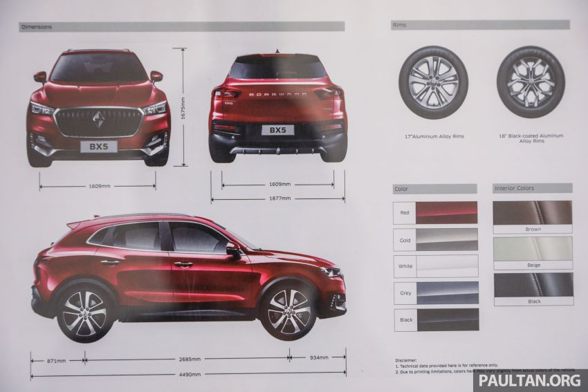 Borgward BX5 and BX7 SUVs previewed in Malaysia Image #812973